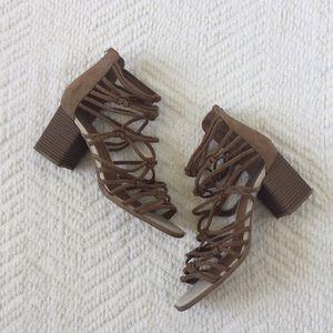 DV Strappy Block Heel Sandals